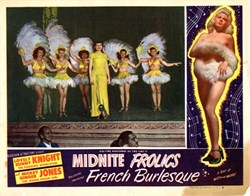 Midnite Frolics Lobby Card Starring Sunny Knight and Mickey Ginger Jones
