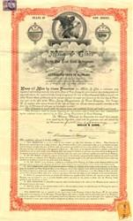 Mills & Gibb Gold Debenture - New Jersey 1900