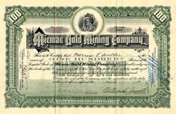 Micmac Gold Mining Company - Lunenberg County, Nova Scotia, Canada - 1909