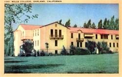 Mills College - Oakland, California Postcard