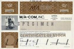 M/A-COM, Inc. - Massachusetts