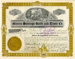 Miners Savings Bank and Trust Company