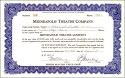 Minneapolis Theatre Company 1936