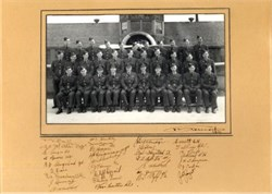 Royal Canadian Air Force WWII Photograph with 32 Signatures