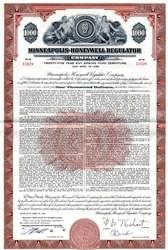 Minneapolis-Honeywell Regulator Company - Delaware 1961