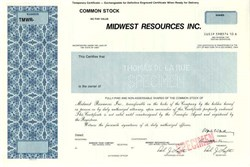 Midwest Resources Inc. - Iowa ( MidAmerican Energy )