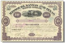 Missouri, Kansas and Texas Railway Company 1886
