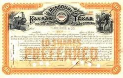 Missouri, Kansas and Texas Railway Company 1898