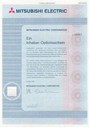 Mitsubishi Electric Certificate in German