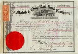 Mobile and Ohio Rail Road Company 1868 - 1870