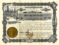 Morro Bay Oil Company - San Luis Obispo, California, California 1908