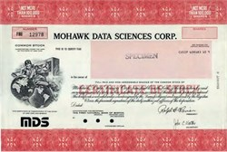 Mohawk Data Sciences Corp. -  New York 1970's