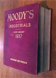 Moody's Industrials - 1937