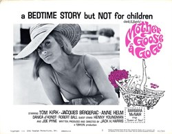 Mother Goose A Go Go Lobby Card Starring Tom Kirk, Jacques Bergerac, and Anne Helm - 1966