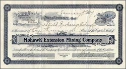 Mohawk Extension Mining Company - Goldfield, Nevada 1907