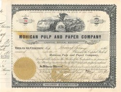 Mohican Pulp and Paper Company 1911