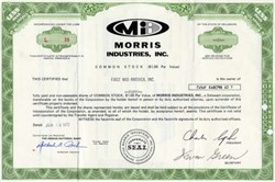 Morris Industries, Inc. - Omaha, Nebraska 1972