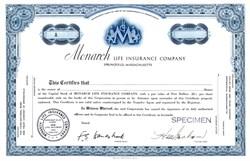 Monarch Life Insurance Company - Springfield, Massachusetts