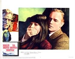 Morituri Lobby Card Starring Marlon Brando and Yul Brynner - 1965