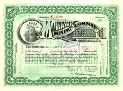 Mohawk Mining Company (Native American Indian Chief) - Michigan 1929