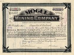 Mogul Mining Company - 1906