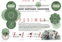Mony Mortgage Investors - 1972