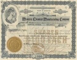 Monterey Chemical Manufacturing Company - 1897