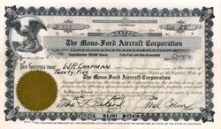 Mono - Ford Aircraft Corporation 1930