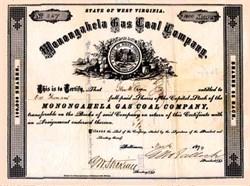 Monongahela Gas Coal Company 1874
