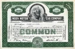 Moon Motor Car Company - Delaware 1930