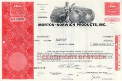 Morton - Norwich Products, Inc. - 1973 (  Now Procter & Gamble  )