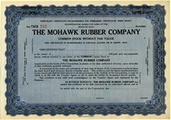 Mohawk Rubber Company - Akron, Ohio