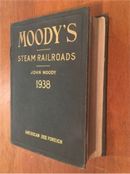 Moody's Steam Railroads Manual (American and Foreign) - 1938