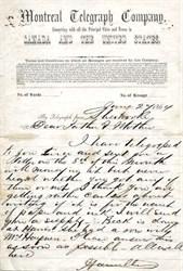 Montreal Telegraph Company - 1864