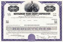 Montgomery Ward Credit Corporation - Delaware 1977