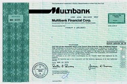 Multibank Financial Corporation - Massachusetts 1974