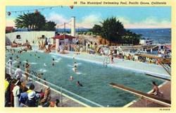 Municipal Swimming Pool - Pacific Grove, California