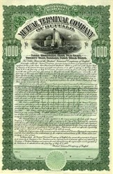 Mutual Terminal Company of Buffalo $1000 Gold Bond - New York 1904
