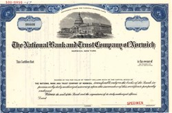 National Bank and Trust Company of Norwich - Connecticut