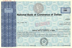 National Bank of Commerce of Dallas - Texas