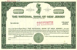 National Bank of New Jersey - New Jersey