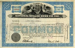 National Bellas Hess Co. Inc. (Famous Mail Order House) - New York  1932