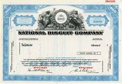 National Biscuit Company (Nabisco)  Specimen - New Jersey