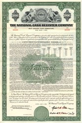 National Cash Register Company  $1,000 Bond ( Became NCR Corporation) - Maryland 1960