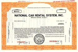 National Car Rental System, Inc. - Nevada