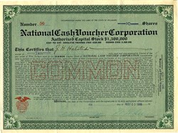National Cash Voucher Corporation - Delaware 1916