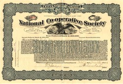 National Co-Operative Society - Chicago, Illinois 1909