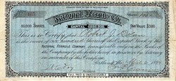 National Ferrule Company - Maine 1894