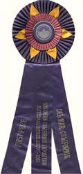 National Horse Show First Prize Ribbon,  Del Mar, Californa 1961