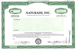 Naturade, Inc. - Delaware
